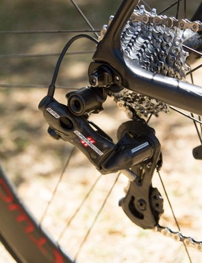 Campagnolo Super Record EPS provides accurate, electronic shifting