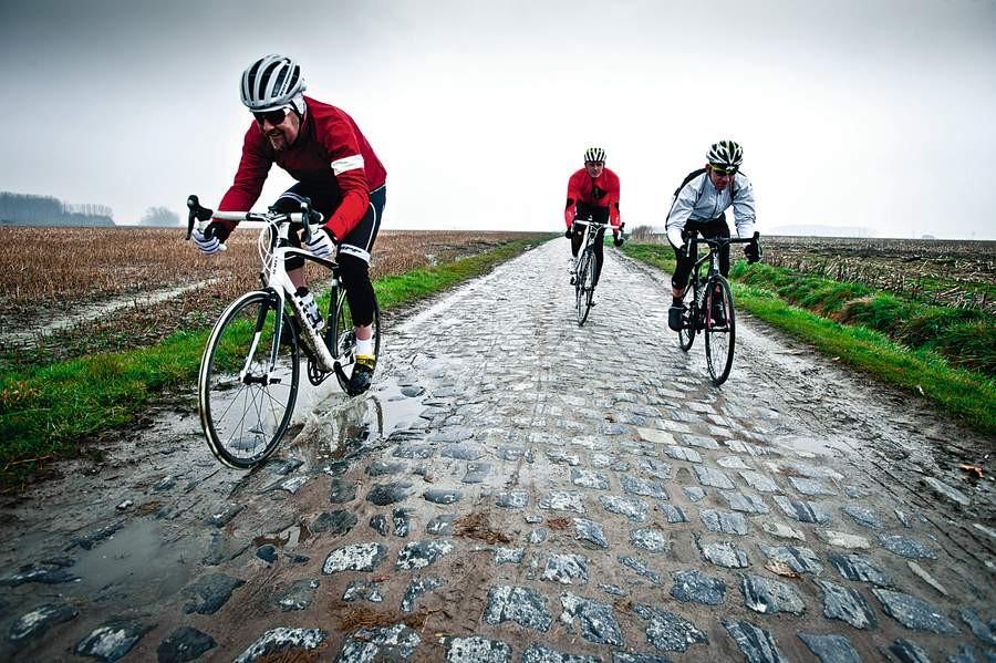 More compliant bikes go faster over rough terrain