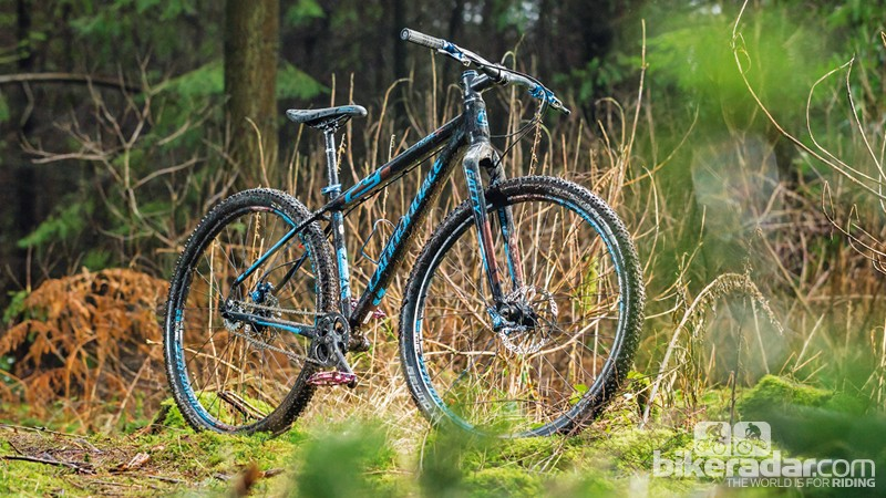 The Cannondale Trail SL 29 Singlespeed is rigid, but can take a suspension fork no problem