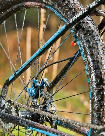 Schwalbe tyres are easy to 'de-tubenate' to save 400 to 500g of rotating weight