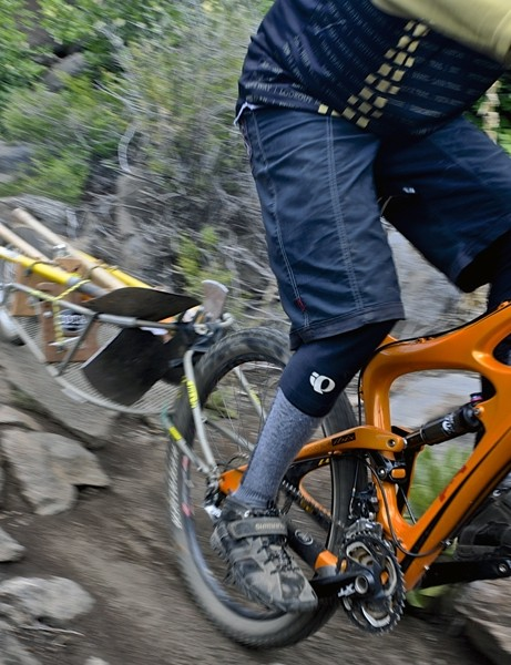Want to do some trail maintenance using your favorite thru-axle-equipped bike? Now you can, thanks to the Robert Axle