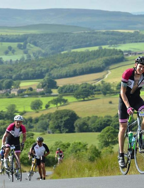 This lad is far too whippet like for Fat Lad at the Back kit, but he is riding in Tour de Flab country