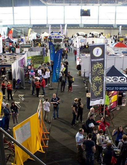 The Scottish Bike Show is attended by a growing list of exhibitors and top brands