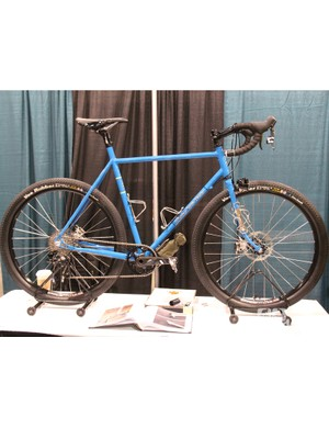 Harvey designed this gravel road racer for endurance events such as the Trans Iowa, Dirty Kanza 200 and the Tour divide