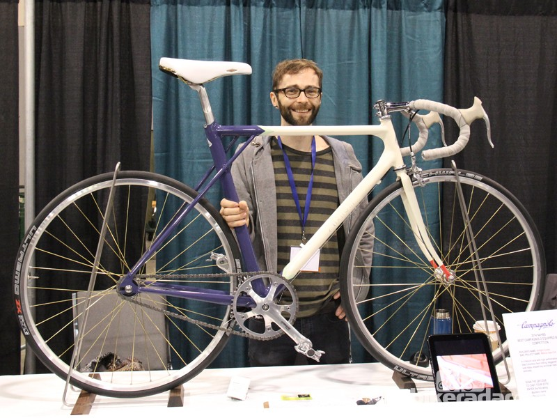 Mathew Amonson is the man behind Airtight Cycles. This track-inspired city bike is his fouth frame