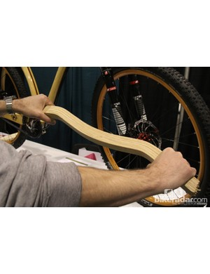 Connor's handlebar before being shaped