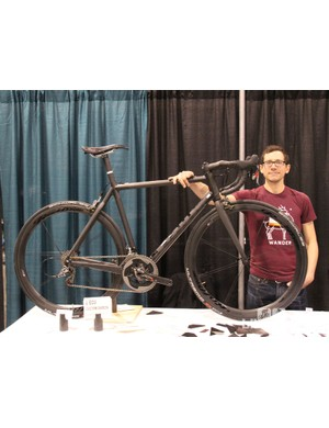 Devin Zoller of L'Ecu Bicycles has been building carbon frames for one and a half years