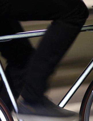 Mission Bicycle Company's Lumen is coated with reflective paint
