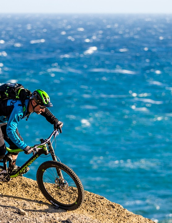 Cannondale's OverMountain team will be racing the fork in enduros this year