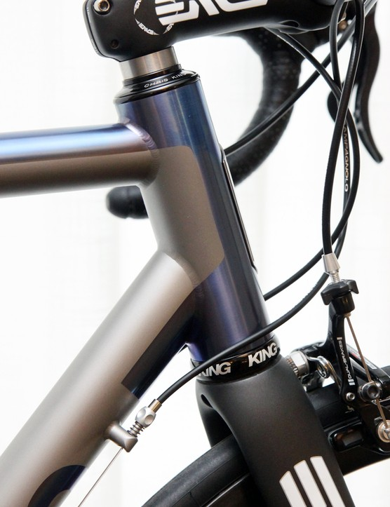 No. 22 builds titanium frames in small batches, then lets the rider pick the parts —including the rake of fork