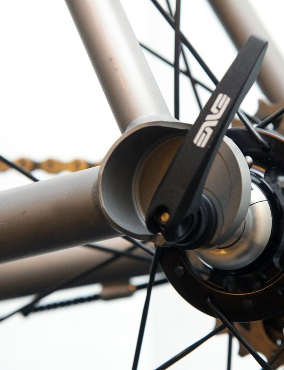 No. 22 Ti frames are built in five sizes, with custom on the way