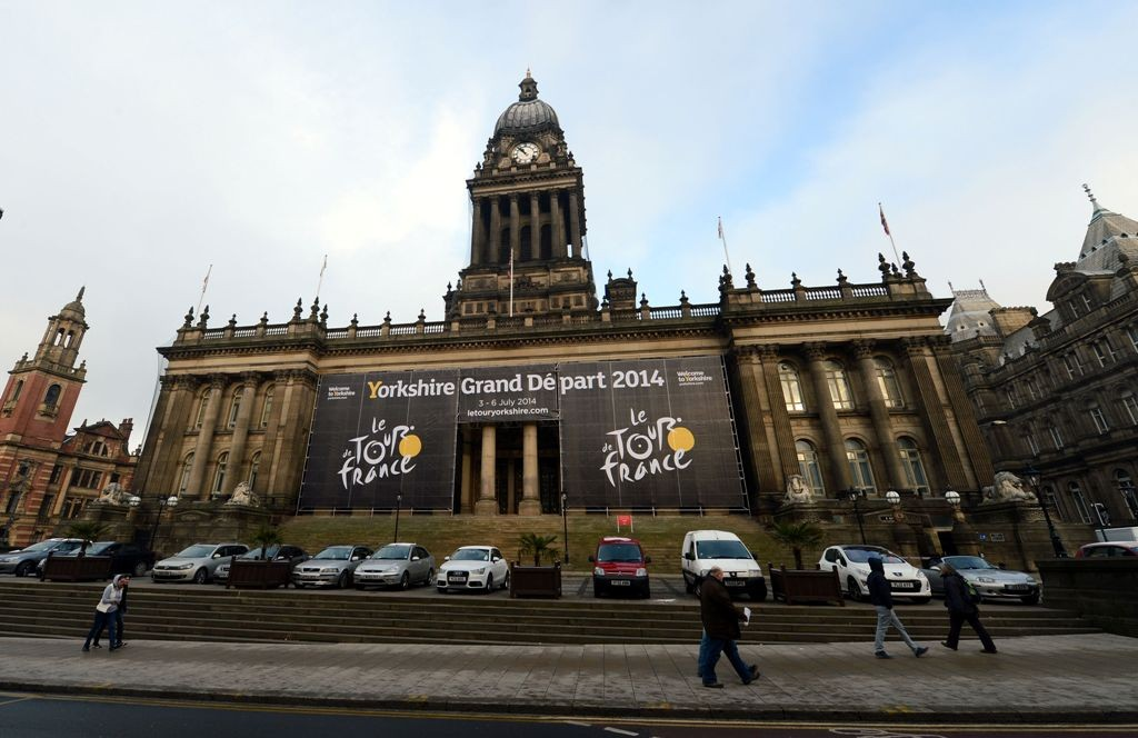A report claims Yorkshire is £2.3m short of the potential cost of hosting the Tour de France grand depart