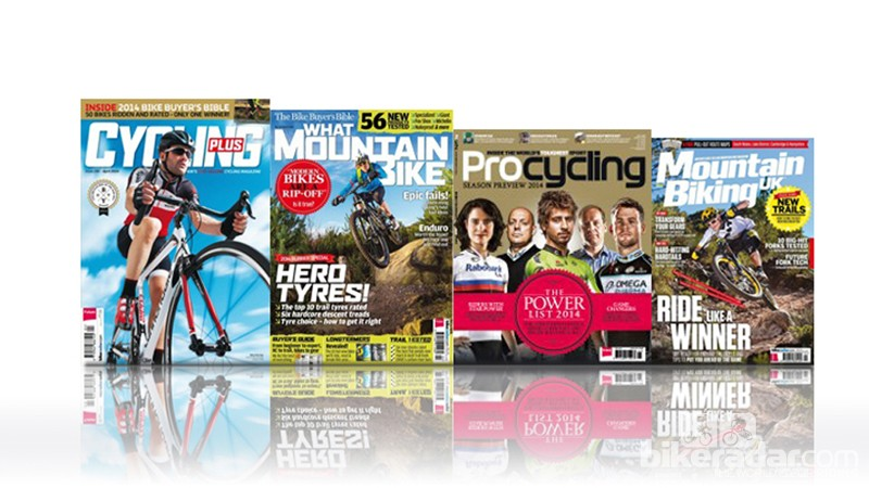 Win a year's subscription to your favourite cycling magazine