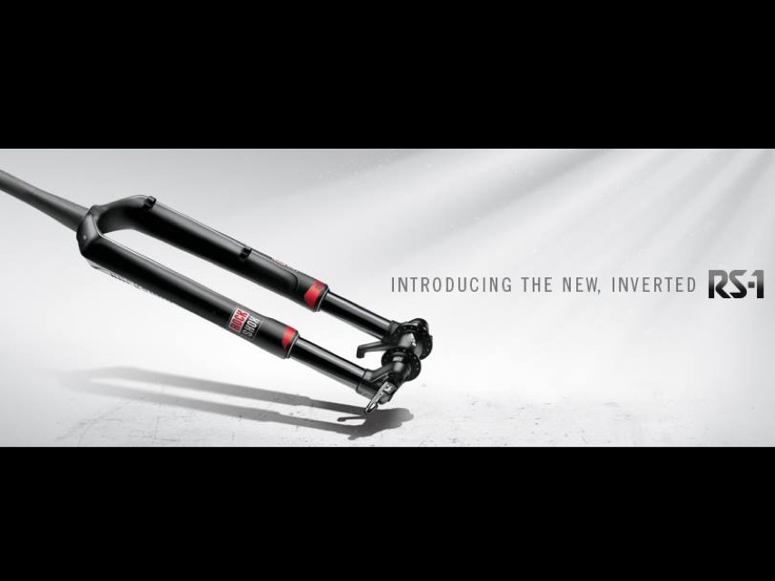 Suspension manufacturer RockShox released a full image of its latest suspension fork, the RS-1 on the company's Facebook page today
