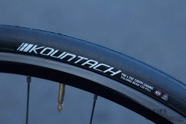 Kenda's Kountach tyre proved to be a reliable choice