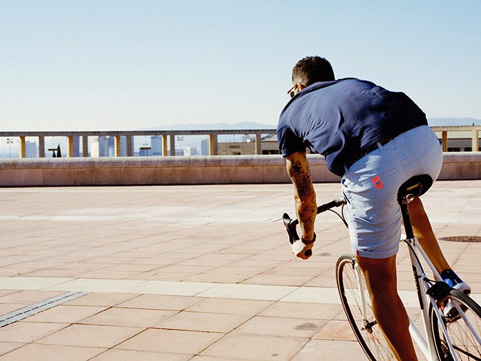 Rapha has some new pieces like these shorts for spring