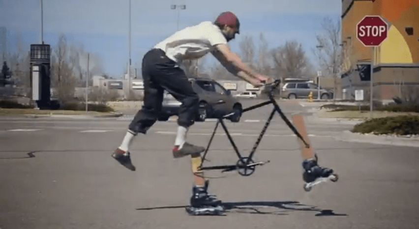 You'll see all kinds of bike design wrong in this stunt video from Fairdale