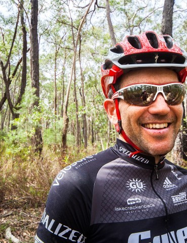 Andy Blair is a member of the Swell-Specialized racing team