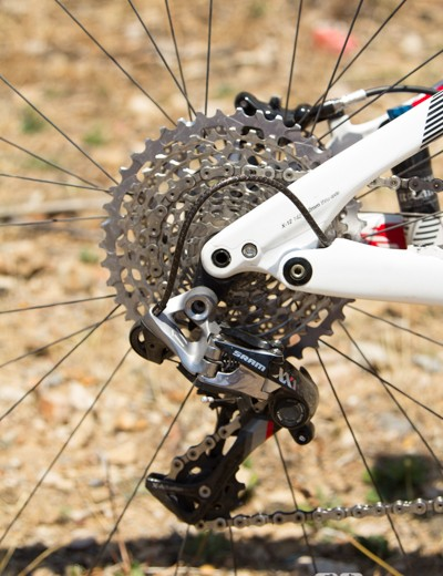 SRAM's XX1 is quickly becoming the choice for fast and furious racing