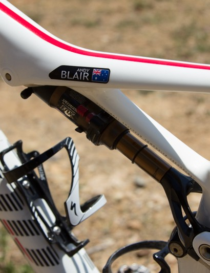 A collaboration between Fox suspension and Specialized has led to this Mini-Brain rear shock