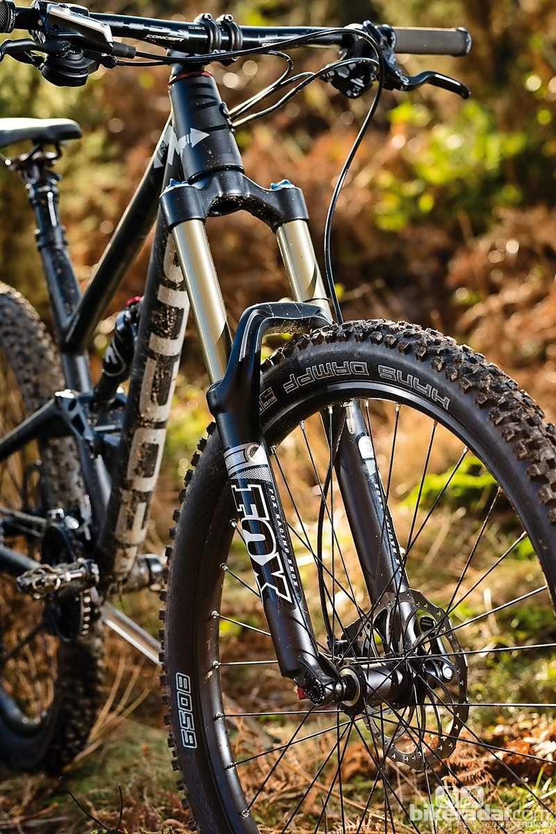 Seeing the Magura shock was a… shock, but surprisingly the Fox fork was the weak link