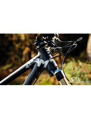 That 65-degree head angle makes the Focus the slackest trail bike we've ridden