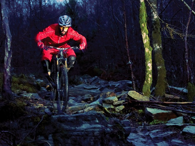 MBUK's Rob Weaver puts the new fork through its paces at BikePark Wales