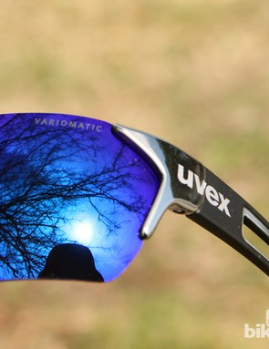 Many UVEX glasses are offered with photochromic lenses