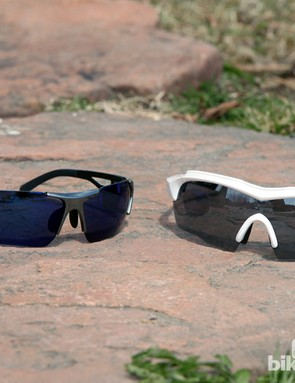UVEX has a very broad range of sunglasses on tap for this season including the 202 Small Race Vario (left) and the SGL 104 (right)