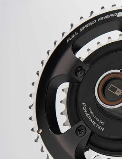 The new SRM FSA crank with user changeable batteries