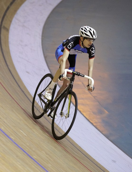 BikeRadar tested out the new TK Pro on teh boards of the Newport velodrome in Wales