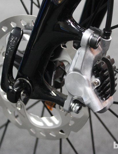 Pre-production Shimano RS785 caliper and RT99 rotor