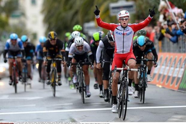 Alexander Kristoff (Team Katusha) wins Milan-San Remo
