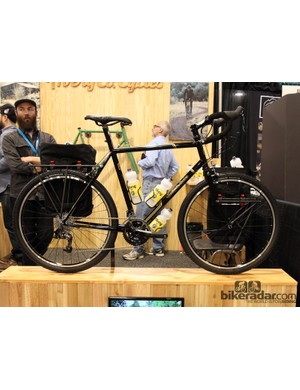 Avery Cycles built this touring steed with a Smokey and the Bandit theme