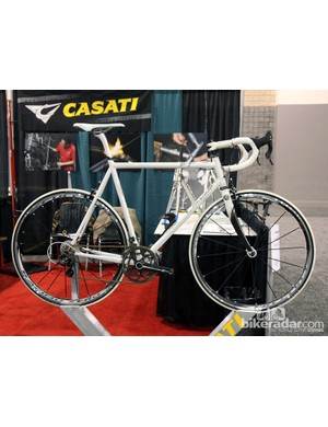 Casati is commemorating the passing of company founder Gianni Casati with this stunning Columbus Nemo road bike