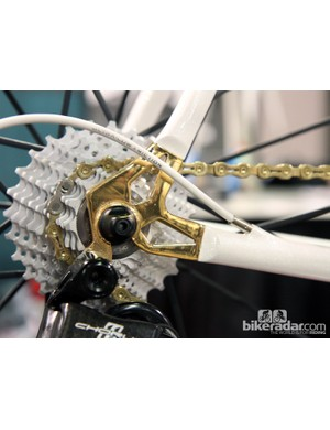 The gold plating may not be to everyone's taste but it's certainly striking
