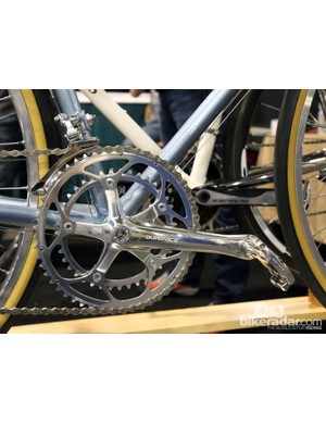 Ellis Cycles' biggest challenge at the show was keeping the polished 25th anniversary Shimano Dura-Ace parts fingerprint-free