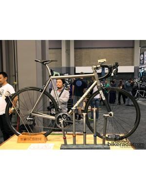 Kent Eriksen's titanium bikes never fail to disappoint at NAHBS