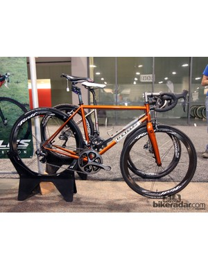 Despite the company name, Ti Cycles also works in steel