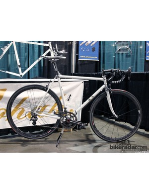 Japanese builder Watanabe says this road bike design was inspired by a sword