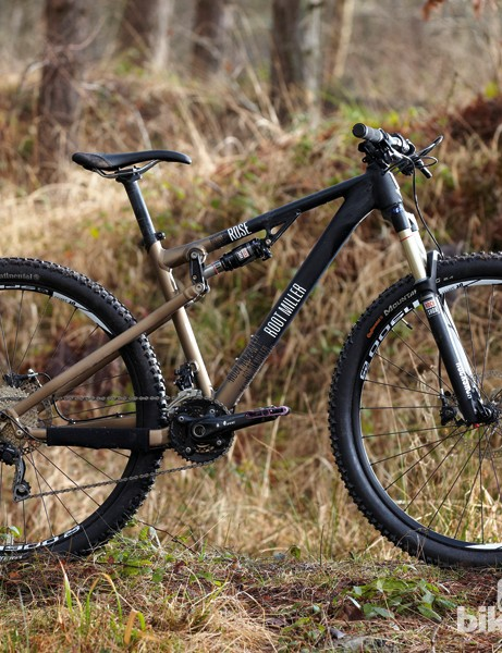 Rose Root Miller 1 29: Curiously for a bike with plenty of travel (for a 29er), the Root Miller doesn't have cable routing for a dropper seatpost