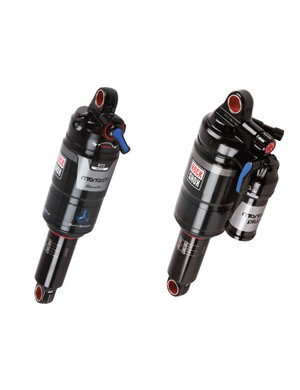 RockShox has updated its Monarch and Monarch Plus rear shocks with higher volume air canisters intended to make give them a more linear feel and improve small bump sensitivity