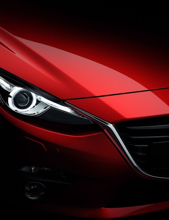 Mazda's KODO - Soul of Motion design language doesn't just create an aggressive  yet beautiful silhouette on the Hatchback, it's aerodynamic, too