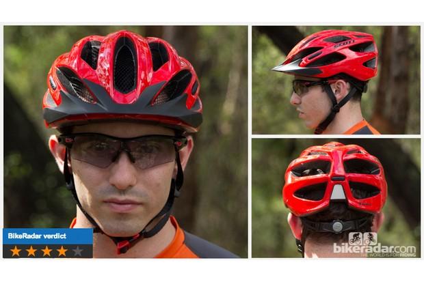 Scott Watu helmet: huge vents and decent coverage in a super light package