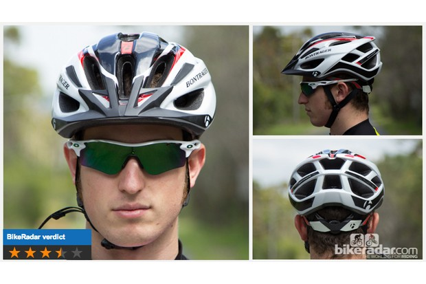 Bontrager Quantum helmet offers solid performance, good looks and there are four sizes to choose from