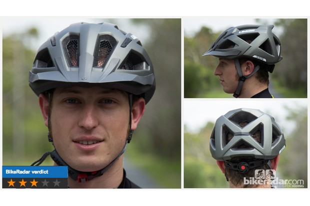Limar X-MTB helmet: massive vents and it's very light, but the one-size option is very large
