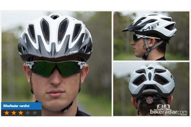 Met Crossover helmet - feature-packed with strong performance, though a little hot at the sides