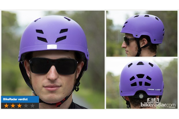 Limar X-Urban helmet - this 'bucket' lid is warm and heavy, but is a good option if you're set on this style