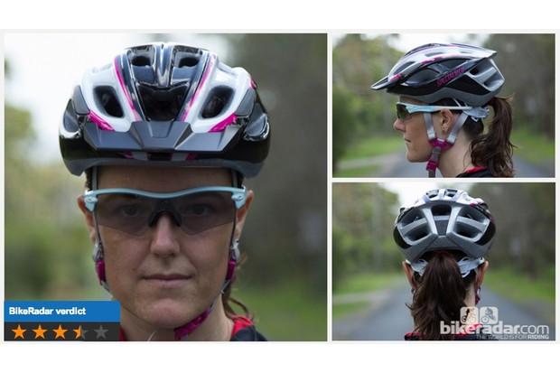 Specialized Duet helmet: one size fits most, decent performance and an easily removed visor make this a very versatile lid