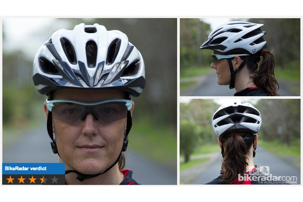 Bontrager Solstice WSD helmet shows that often a women's helmet isn't different to a men's. The Solstice is still a great helmet at a high-value price